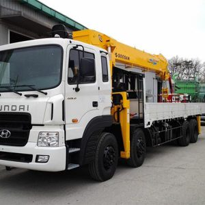 Xe tải Huyndai HD250 gắn cẩu Soosan 7 tấn