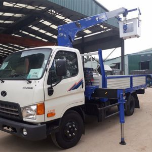 Xe tải Hyundai HD99 gắn cẩu Tadano 3 tấn