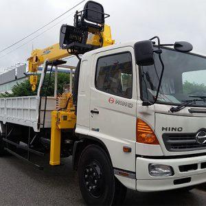 Xe Tải HINO FL8JTSL gắn Cẩu Soosan 7 tấn SCS746L