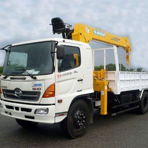 xe tải hino FL gắn cẩu soosan 7 tấn SCS746