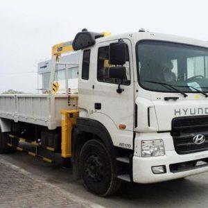 Xe tải Hyundai HD170 gắn cẩu Soosan 5 Tấn SCS513