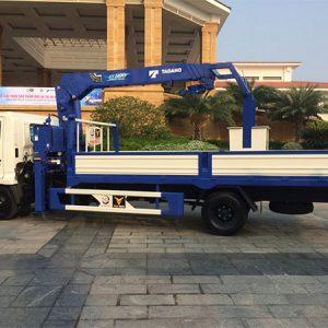 Xe tải Hino FG gắn cẩu Tadano 5 tấn