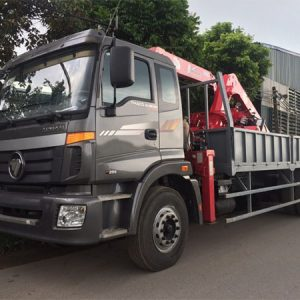 Thaco Auman C240C gắn cẩu Unic 5 tấn