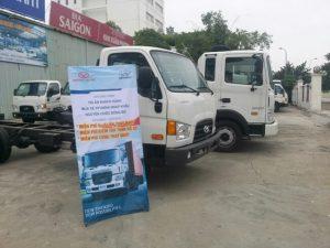 giá xe tải hyundai mới nhất