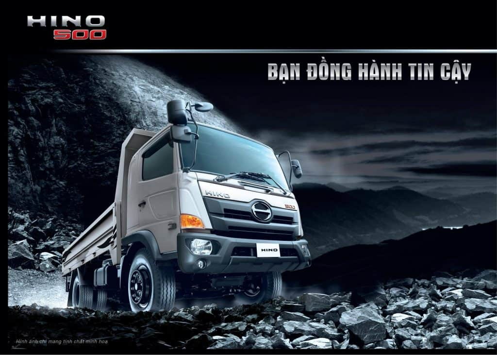 Lễ ra mắt sản phẩm xe tải Hino