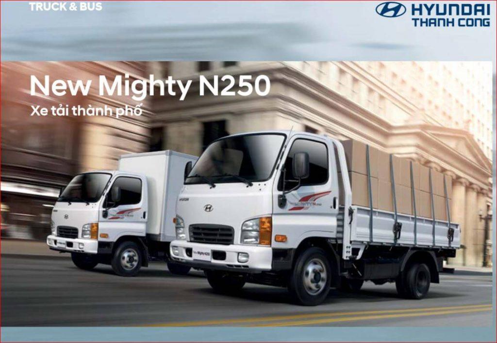 Mighty N250 sản phẩm mới của hyundai thành công